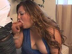 Unforgettable chubby stroke