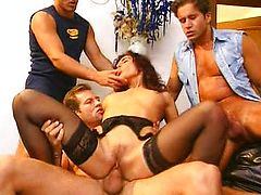 Regina Sipos - Italian Maid Team-fucked