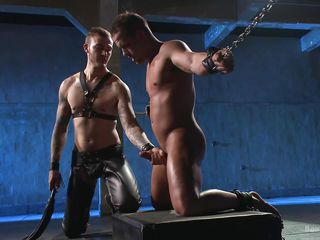 gay sex slave shows some submission