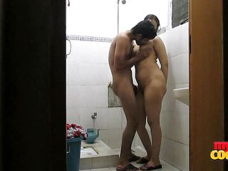 horny couple makes amazing love in the shower