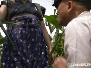 japanese peasant double act fuck in the field