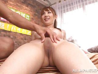 that babe has a sweet shiny on top pussy