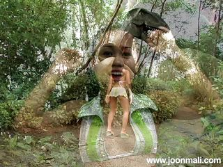 thai tight teen joon's outdoor solo action