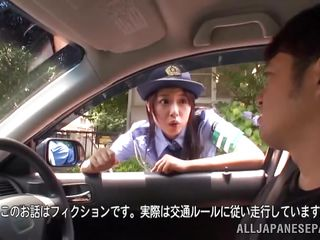 the cop pulls him over for sex