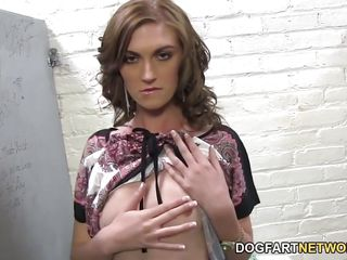 alana rains gets her twat forced with anonymous ebony cock