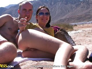 hot duet fucks hard outdoors