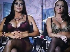 A peek into the lives of pornstars Romi Rain and Abigail Mac