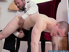 Mormon homosexuals cock milked