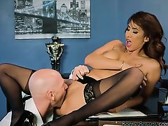 Tempting Secretary Isis Love Gets Fucked By Boss