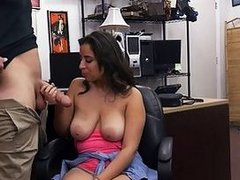 Big tits doll nailed by nasty pawn dude
