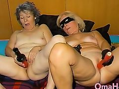 OmaHoteL Horny Ripened Nun Tries Sadomasochism Sex With Apparatus