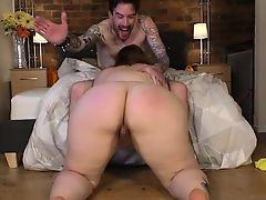 British Plumper Estella Bathory Fucks Tattooed Chap