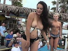All together girls with no limits in this amateur footage